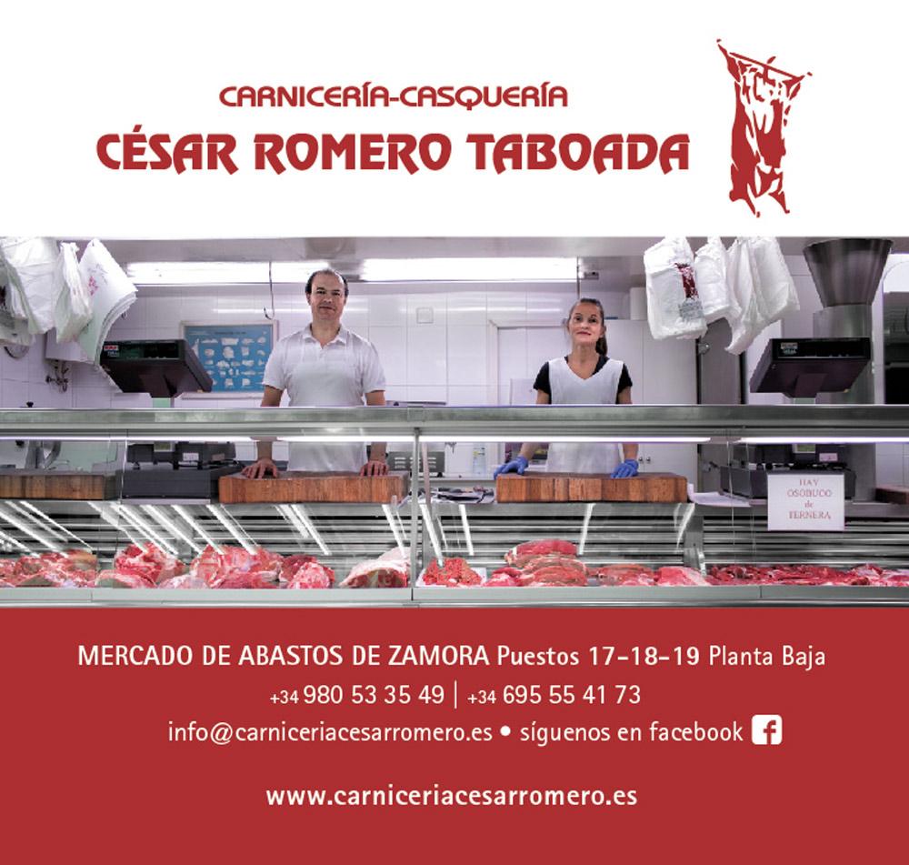 Carnicería Casquería César Romero Taboada