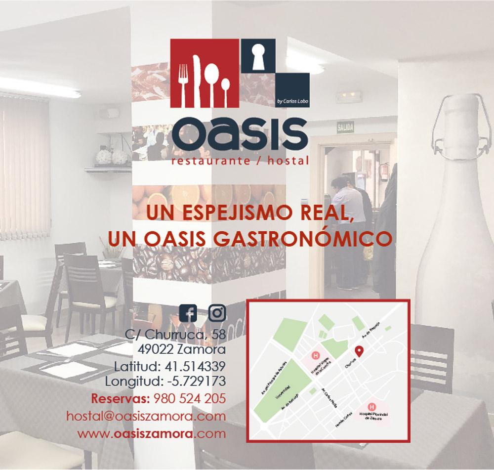 Restaurante Hostal Oasis.
