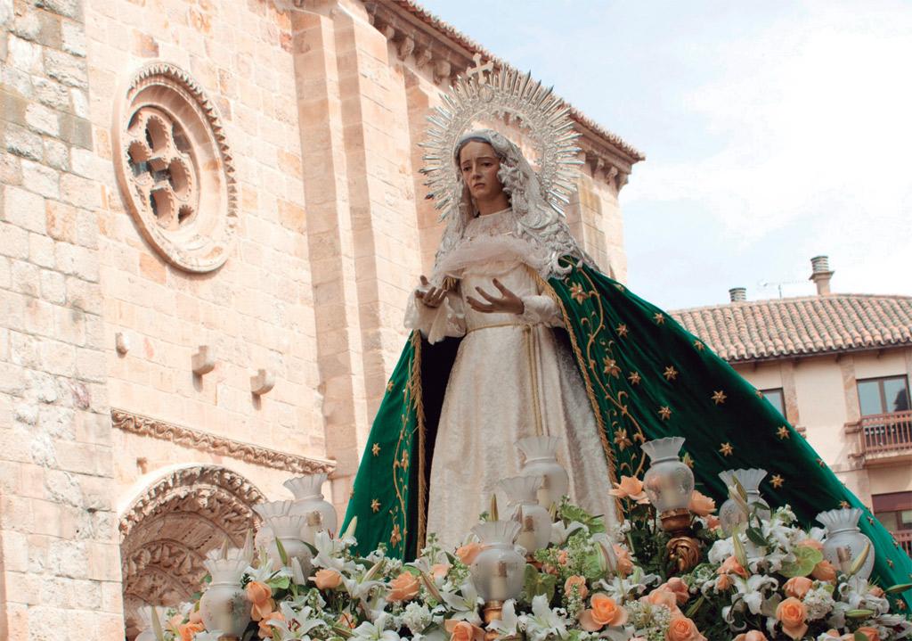 Virgen de la Esperanza. Mañana de Jueves Santo.