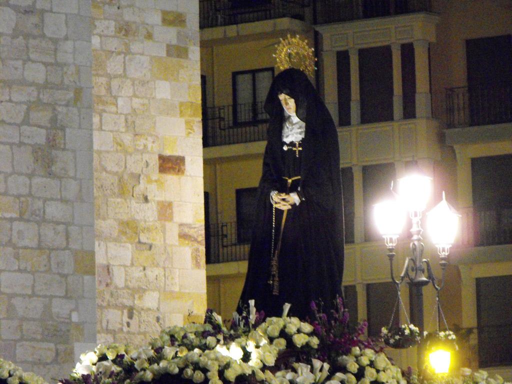 Virgen de la Soledad. Sábado Santo.