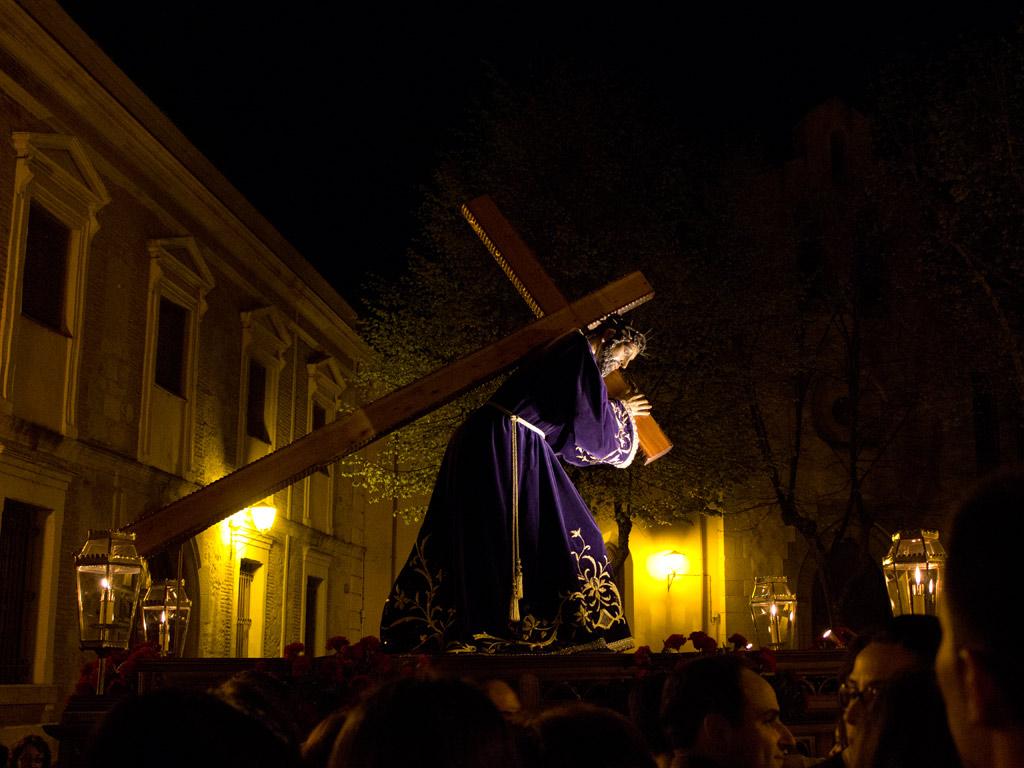 Traslado del Nazareno de San Frontis. Jueves de Pasión.