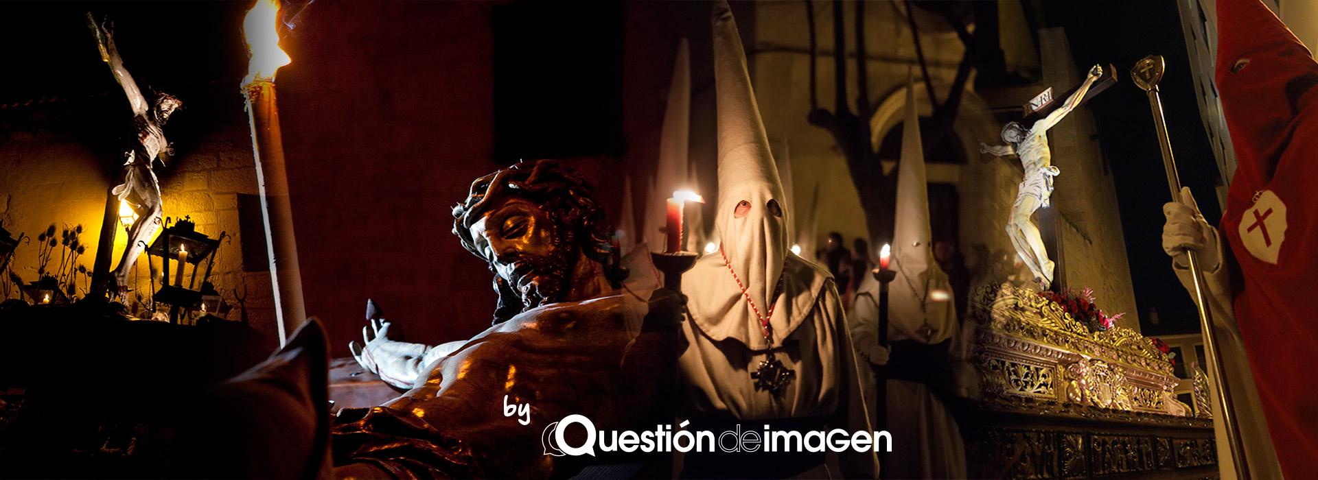 Imágenes de Semana Santa de Zamora de noche