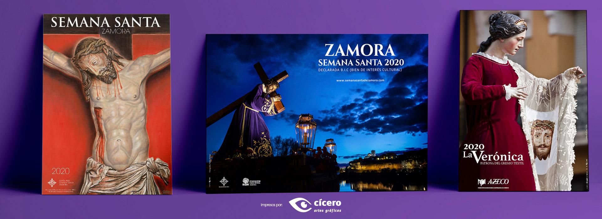 Carteles oficiales Semana Santa Zamora 2020