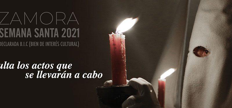 Programa de actos Semana Santa Zamora 2021